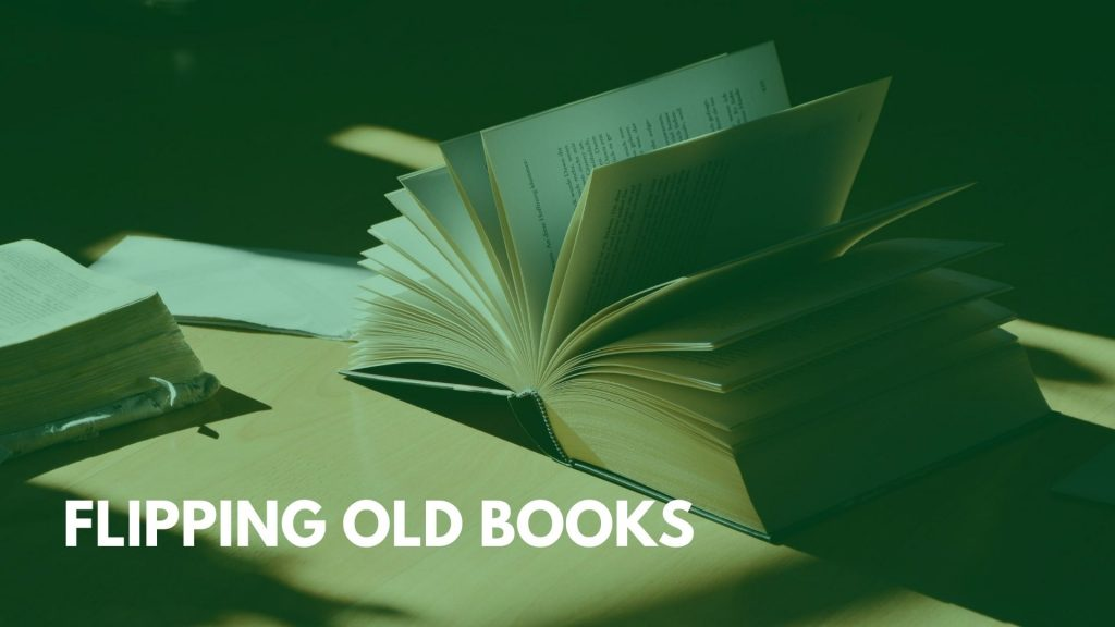 Flipping old books