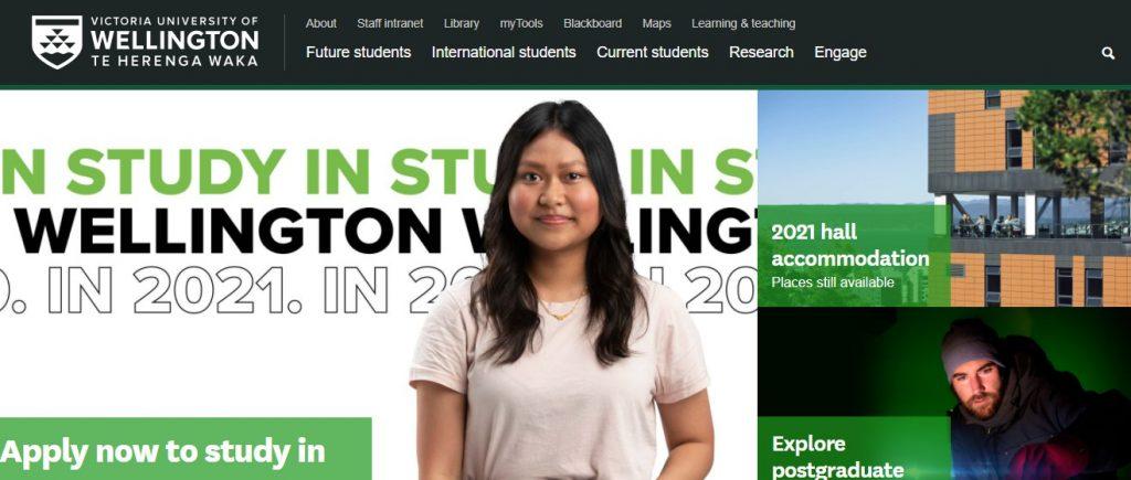 Victoria University of Wellington- Study in New Zealand